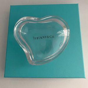 Tiffany & Co. Glass Jewelry Holder